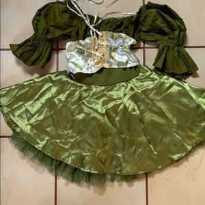 Mother Earth Forest Fairy Costume with wings